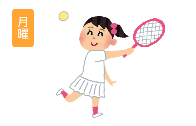 月曜ショートテニス教室