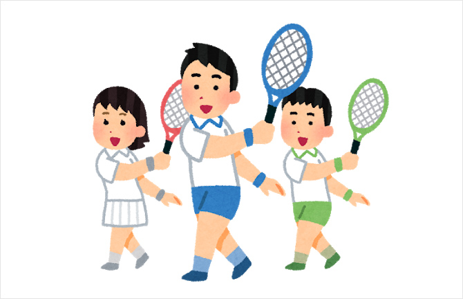 ジュニア硬式テニス教室